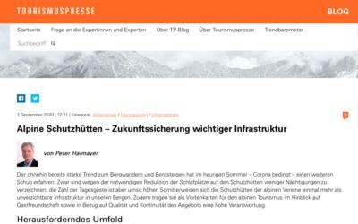 Alpine Schutzhütten – Zukunftssicherung wichtiger Infrastruktur